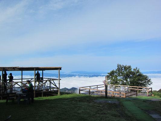 雲海がきれいです