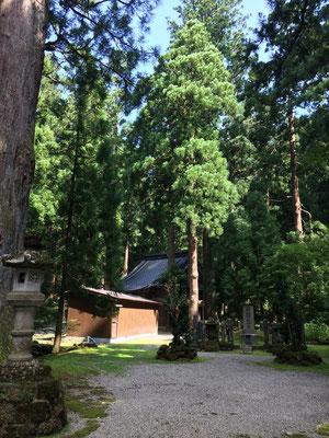 旧芦くら寺 雄山神社