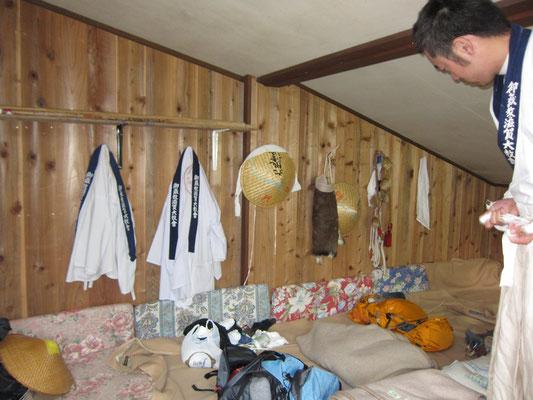 山荘のお部屋