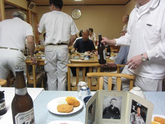 田中旅館での直会