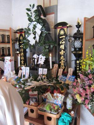 香霊殿慰霊祭
