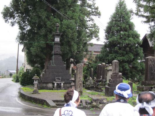 泰賢行者墓所