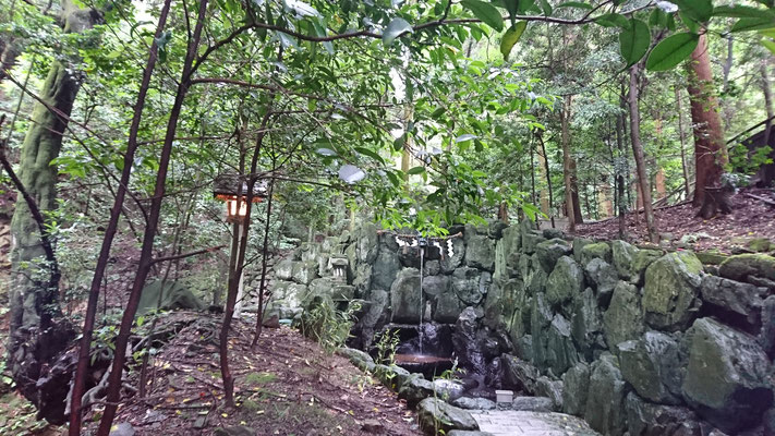 石鎚神社水行場