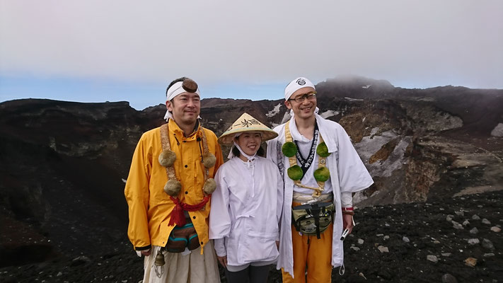 東京から初登拝の方