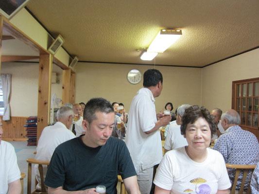 田中旅館の直会
