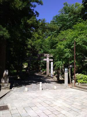 大神山神社奥宮鳥居