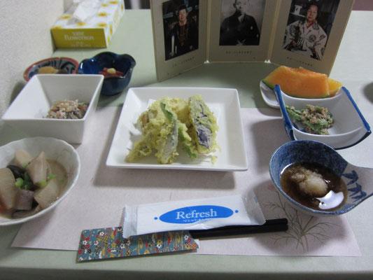 上村屋さんの精進料理 美味でした