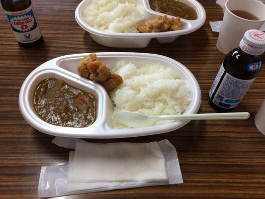 夕食のカレー
