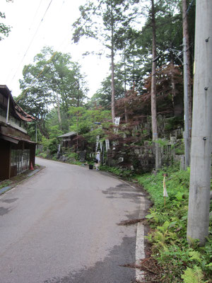 田中旅館前