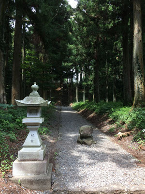 山宮浅間神社 浅間大社の旧社地