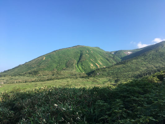 別山への道中
