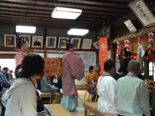 奉幣行事と玉串料奉献の儀