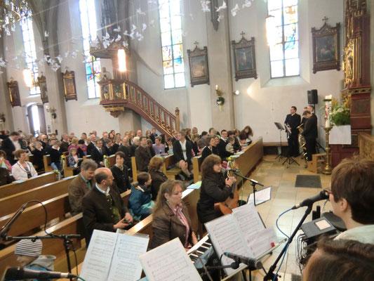 Erstkommunion 2015 Eggstätt - Gleich gehts los ...