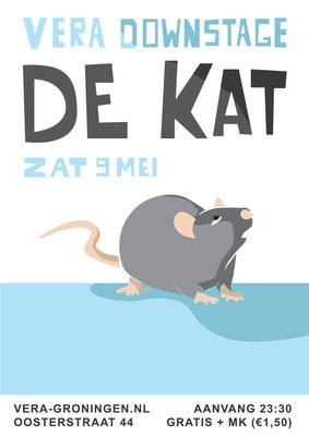 Poster De Kat Vera Groningen
