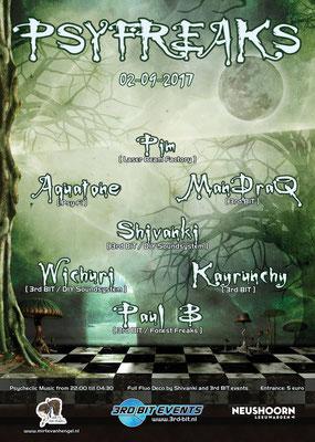 Poster PsyFreaks