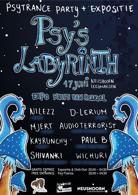 Poster Psy's Labyrinth