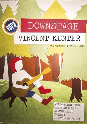 Poster Vincent Kenter Vera Groningen