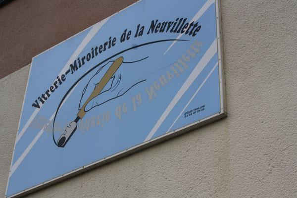Notre atelier situé à Reims 16 rue des Tilleuls