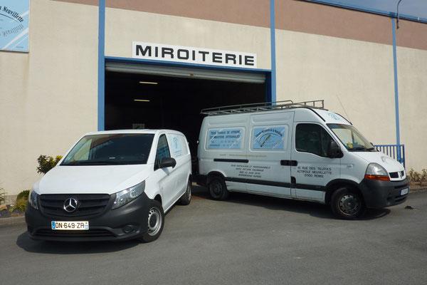 Nos véhicules équipé de materiels professionnels