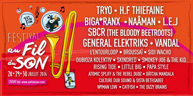 Festival Au Fil du Son 2016
