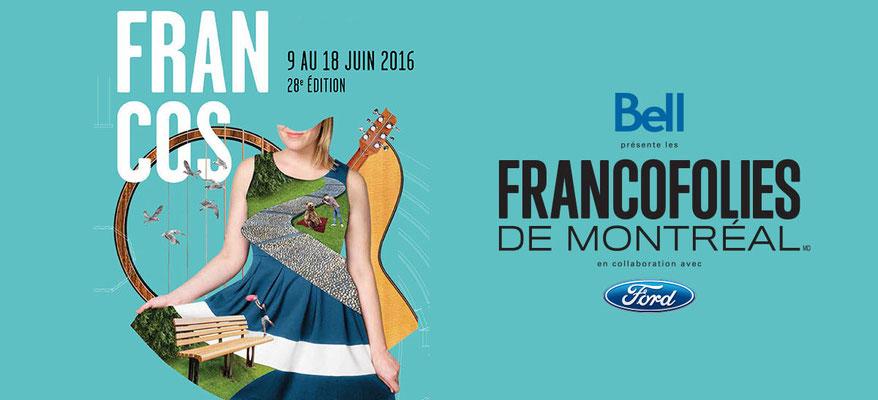 FrancoFolies de Montréal 2016