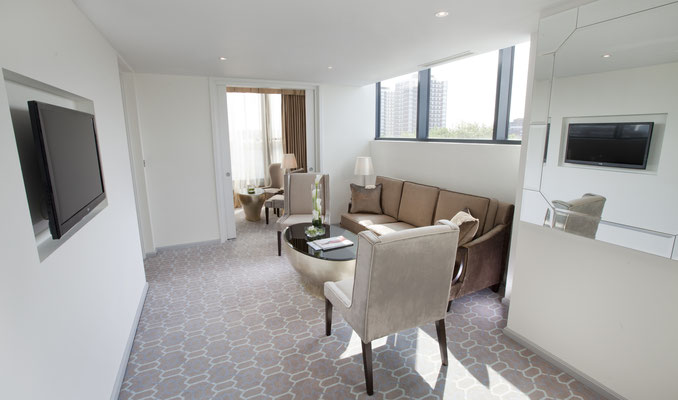 Dorsett Shepherds Bush Suite Livingroom