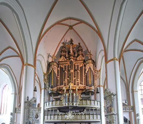 Lüneburg St. Johannis, Große Barock-/Renaissanceorgel