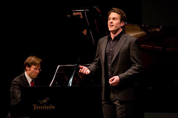 """Liedkonzert """"Neue Stimmen"""" mit Manuel Lange ( (c) Jan Voth)"""