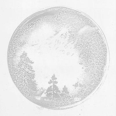 Dreams-spill over 07 - 02 | 80×80cm | 2007 | digitalprint,acrylic