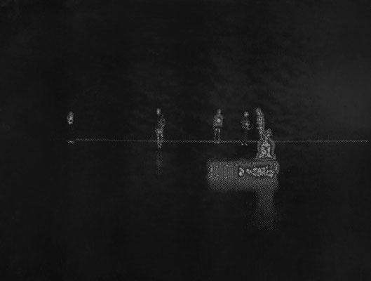 Seepage ・ Black ・ 06|90×120cm|2005|digital print