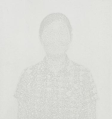 Untitled • Portrait 14 - 05|80×75cm|2012|inkjet printing on japanese paper