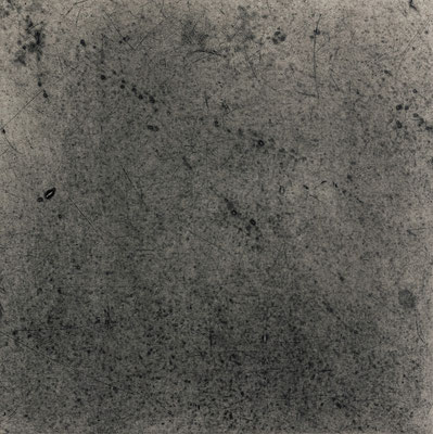 Untitled • floor tile 03|30.5×30.5cm|2016|oil ink, ganpi paper,paper