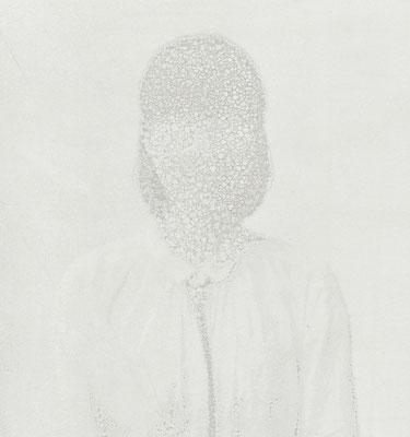 Untitled • Portrait 14 - 04|80×75cm|2012|inkjet printing on japanese paper