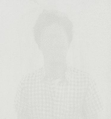 Untitled • Portrait 14 - 03|80×75cm|2012|inkjet printing on japanese paper