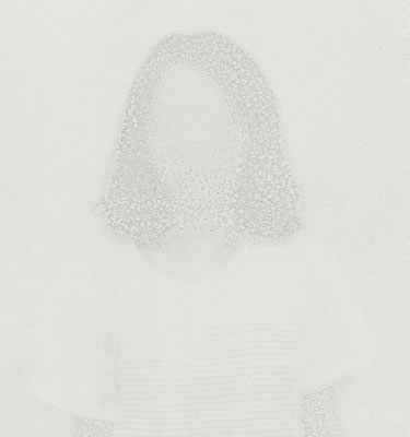 Untitled • Portrait 14 - 02|80×75cm|2012|inkjet printing on japanese paper