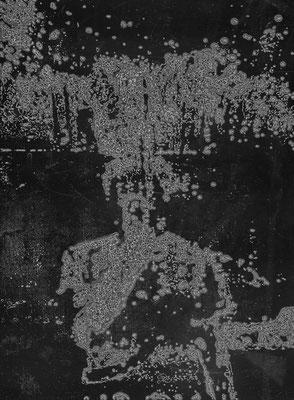 Seepage ・Black ・13|142.5×105cm|2005|digital print