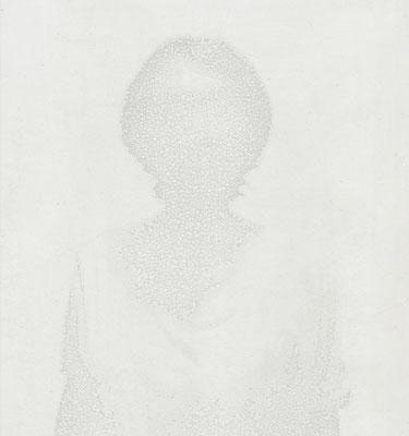 Untitled • Portrait 14 - 01|80×75cm|2012|inkjet printing on japanese paper