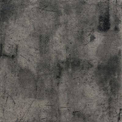 Untitled • floor tile 06|30.5×30.5cm|2016|oil ink, ganpi paper,paper