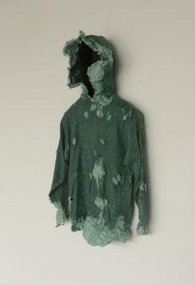 Untitled • Parka |110×70×15cm|2009|puff binder,dyestuff,styrofoam