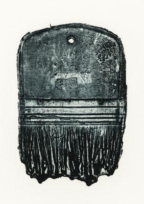 Untitled • brush|12×17.5cm|2019|oil ink,paper
