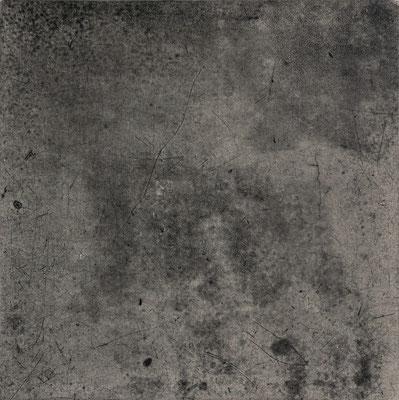 Untitled • floor tile 01|30.5×30.5cm|2016|oil ink, ganpi paper,paper