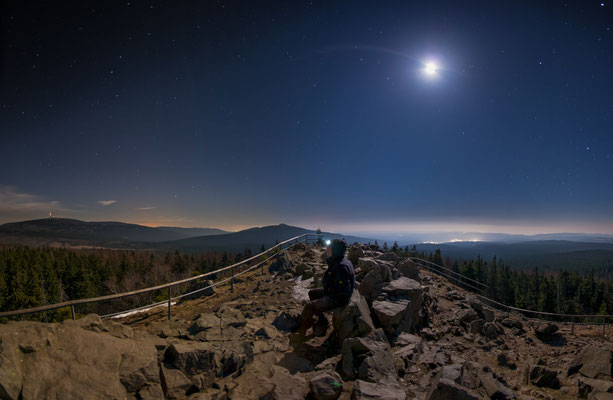 Mondnacht auf dem Achtermann
