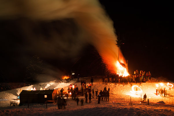 Osterfeuer in Lerbach 2013_1
