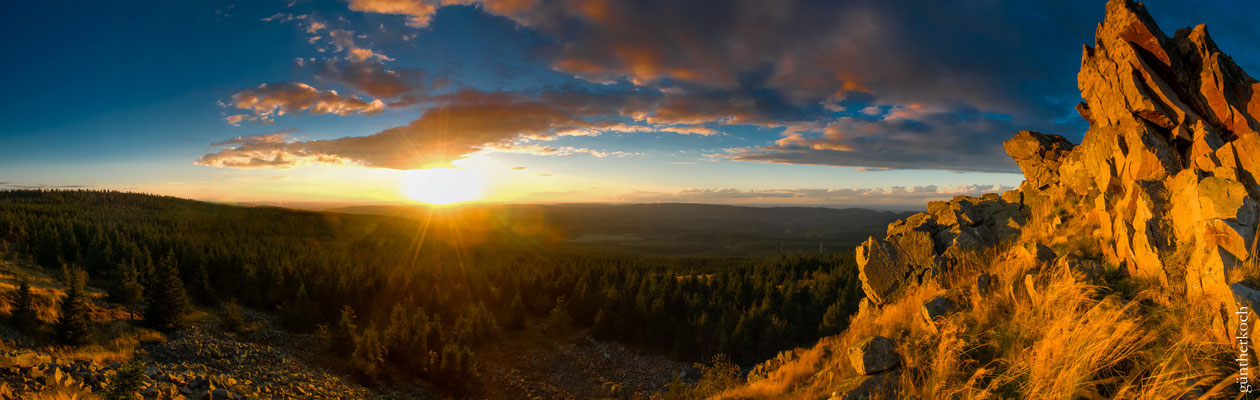 Wolfswarte, Panorama