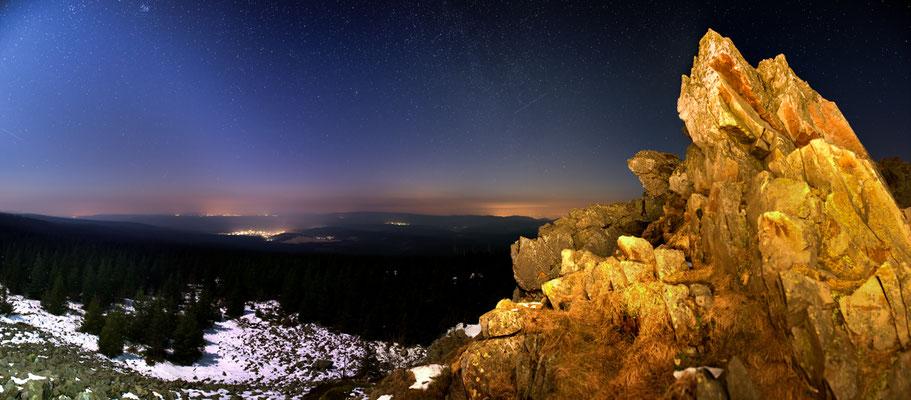Wolfswarte unter Sternen-1