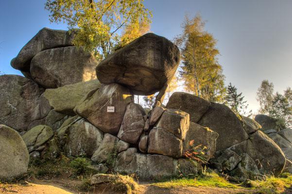 Berge, Felsen und Täler: Mausefalle im Okertal bei den Kästeklippen