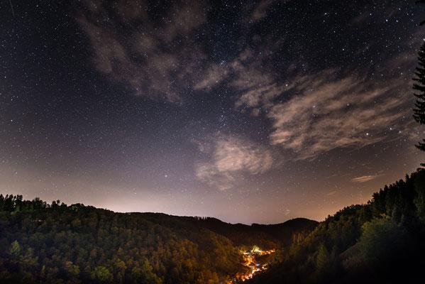 Sternenhimmel über Lerbach