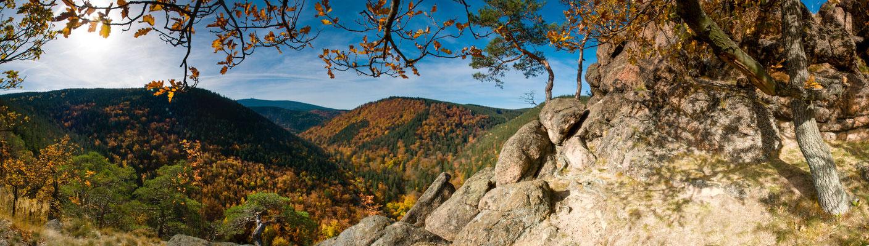 Berge, Felsen und Täler: Ilsetal vom Ilsestein_1