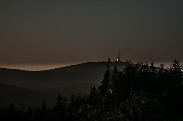 Brocken: Brockenleuchten von der Leistenklippe