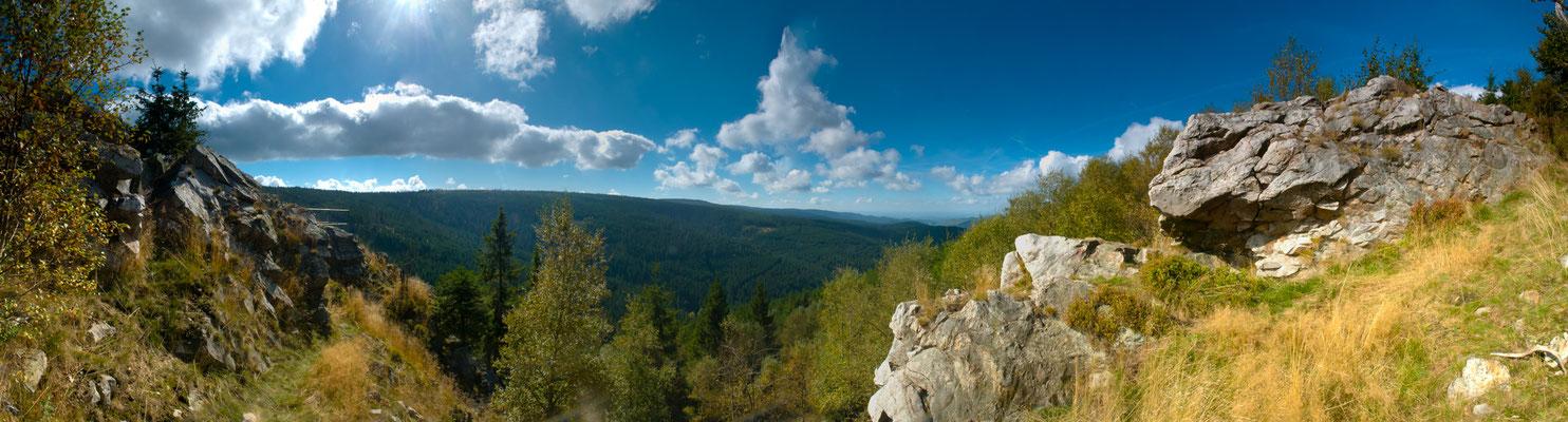 Berge, Felsen und Täler: Hammersteinklippe
